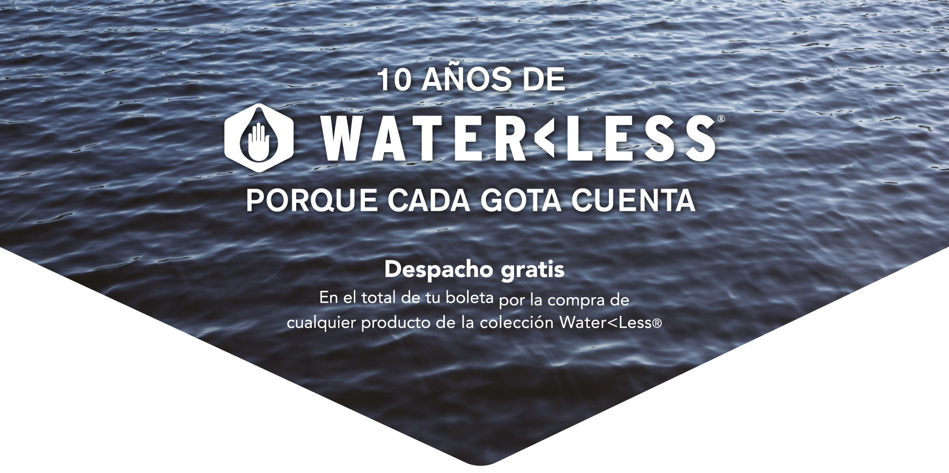 waterless free shipping